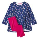 ROCOCO® Girls' 2-Piece Set With Embroidered Top