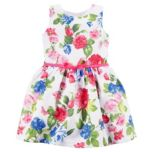 Carter's® Girls' Floral Sateen Dress