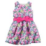 Carter's® Girls' Floral Crepe Dress