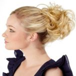 Pretty Fashion Hair Wavy Hair Scrunchie
