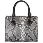 David Jones™ Faux Leather Snake Tote