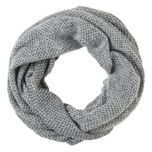 JESSICA®/MD Lightweight Contrast Knit Loop Scarf