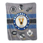 NHL 'Fan' Fleece Throw