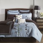 WholeHome®/MD 'Bliss Garden' Duvet Cover Set