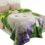 WholeHome®/MD Oversize Throw With Life-Like Animal Print