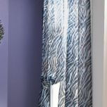 WholeHome®/MD Pair of Zebra Darling Rod-pocket Panels