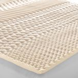 Bodyform® High-Density Foam Mattress Topper With 3 Support Zones