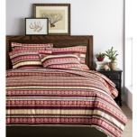 SUNBEAM® Cotton Flannel Duvet Cover Set