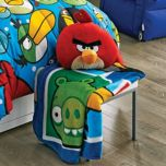 Angry Birds™ 'Blitz' Fleece Throw