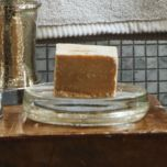 'Gracious Gold' Glass Soap Dish
