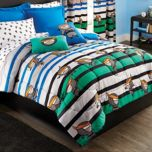 WholeHome®/MD Kid Themed Microfibre Duvet Cover Set
