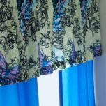 WholeHome®/MD 'Butterfly Scroll' Window Valance