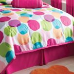 WholeHome TEENS (TM/MC) 'Leah' Bedskirt