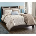 WholeHome®/MD 'Hexagon' Collection 3-Piece Duvet Cover And Sham Set
