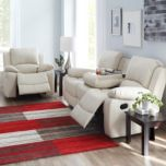 Alicia Bonded Leather Motion Collection