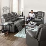 Roscoe  Leather-Look   Reclining Collection