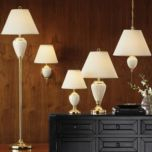 Gen-Lite Polished Brass Lamps